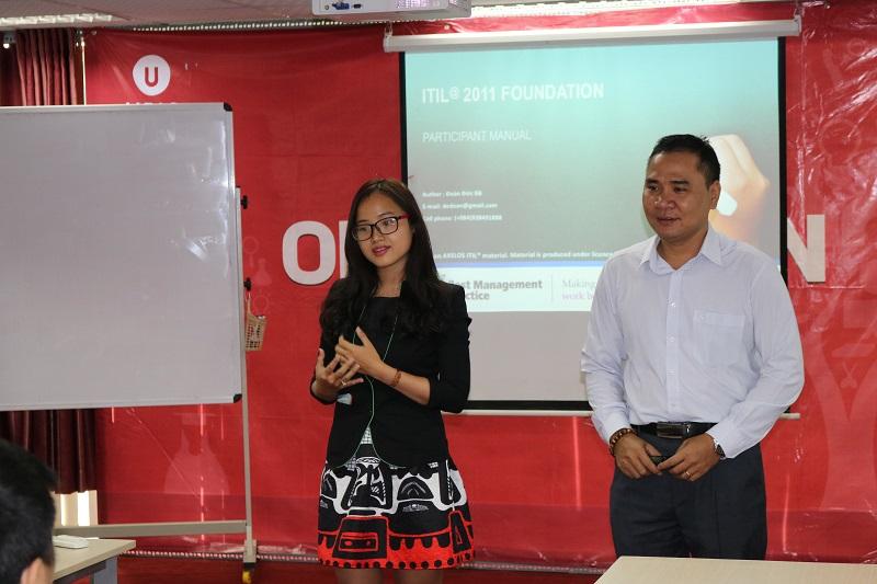 Khai giảng khoá đào tạo ITIL Foundation
