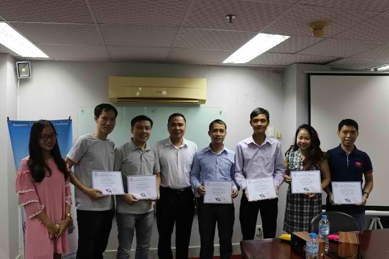 Bế giảng khoá học ITIL ở Hồ Chí Minh Tháng 05 2017