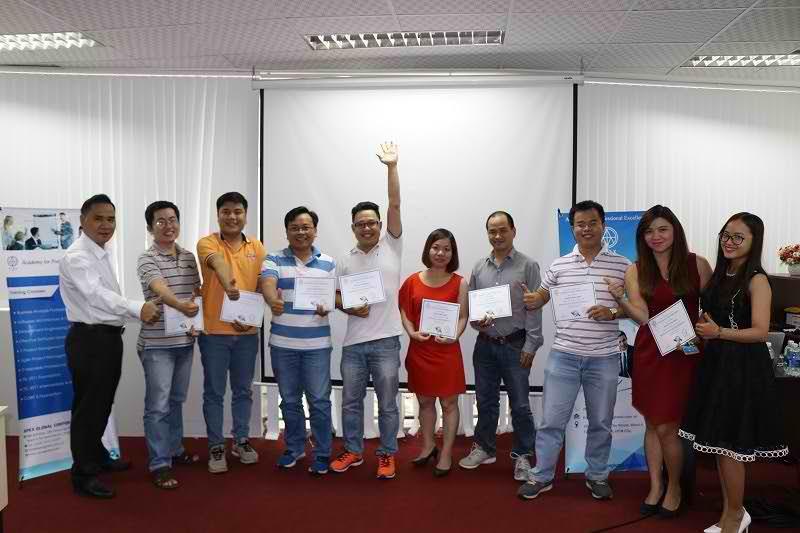 Hình ảnh khoá đào tạo Business Analysis Professional ở HCM tháng 9/2017