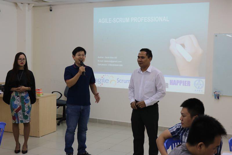 Đào tạo và huấn luyện Agile Project Management cho Thế Giới Di Động