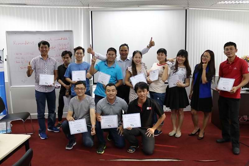 Hình ảnh khoá đào tạo Business Analysis ở HCM tháng 11/2017
