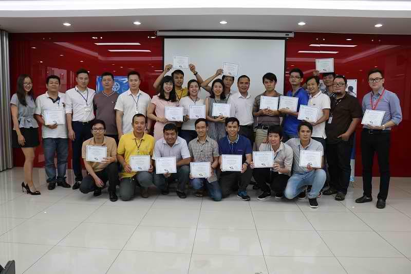 Bế giảng khoá đào tạo Kỹ năng IT HelpDesk cho Tập đoàn Central Group