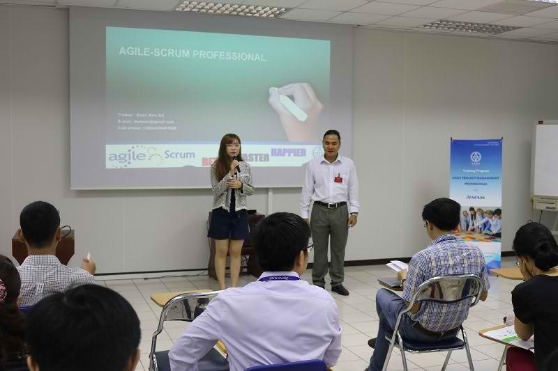 Đào tạo Agile Project Management cho Renesas Design Vietnam