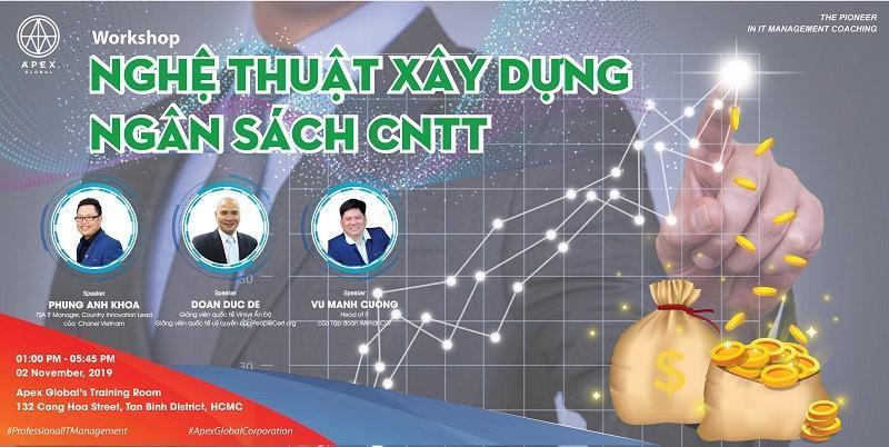 Workshop – Nghệ Thuật Xây Dựng Ngân Sách CNTT