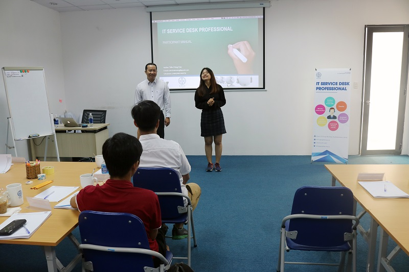 Khai giảng khóa đào tạo IT Service Desk Professional tại HCM – Apex Global
