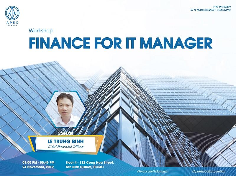 Workshop – Finance for IT Manager