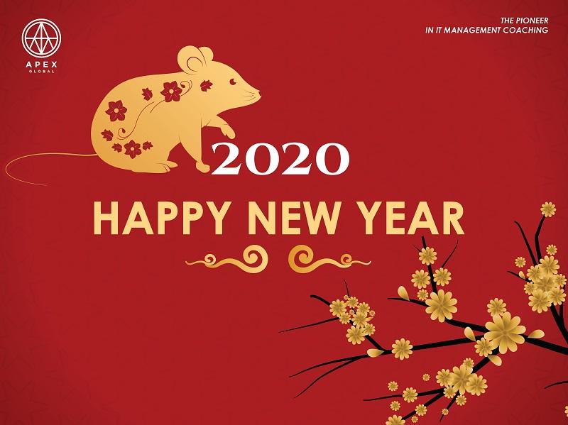 Apex Global thông báo lịch nghỉ Tết Nguyên Đán Canh Tý 2020