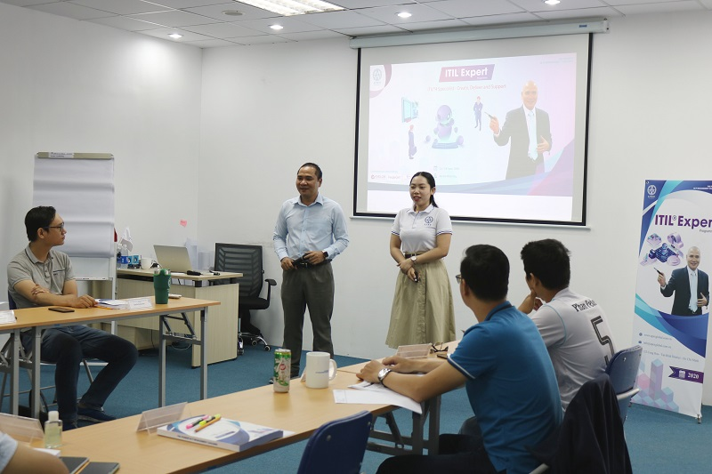 Khai giảng khóa ITIL 4 Specialist Create, Deliver and Support 2020