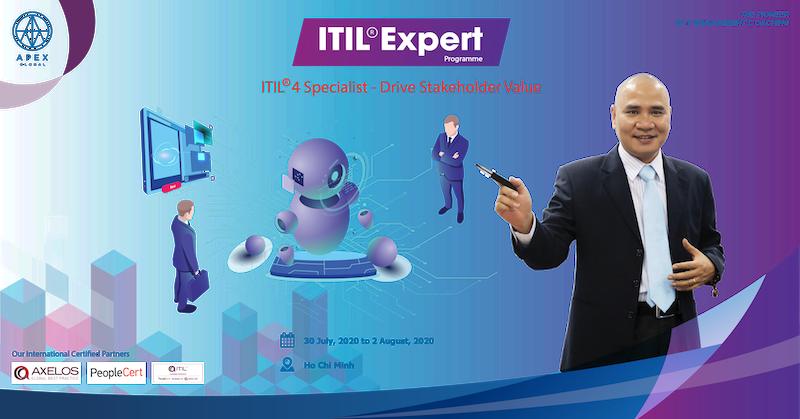 Chiêu sinh Khoá đào tạo ITIL Specialist Drive Stakeholder Value 2020