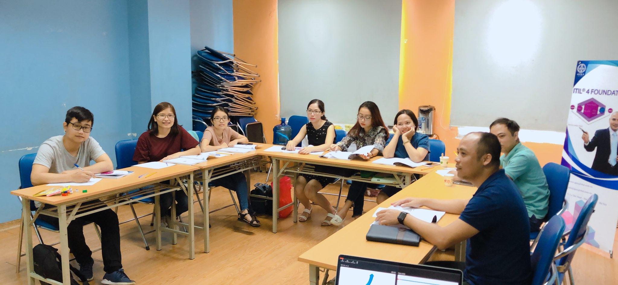Khai giảng khoá học ITIL 4 Foundation ở Hà Nội tháng 7