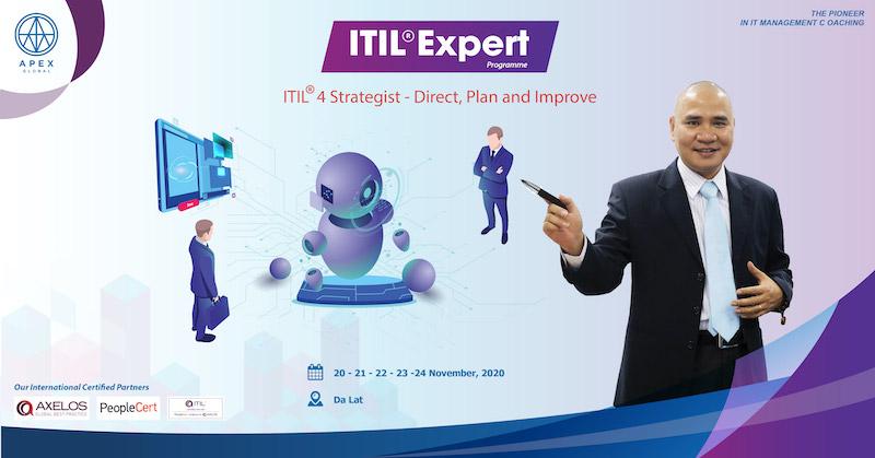Chiêu sinh Khoá đào tạo ITIL 4 Strategist – DPI 2020