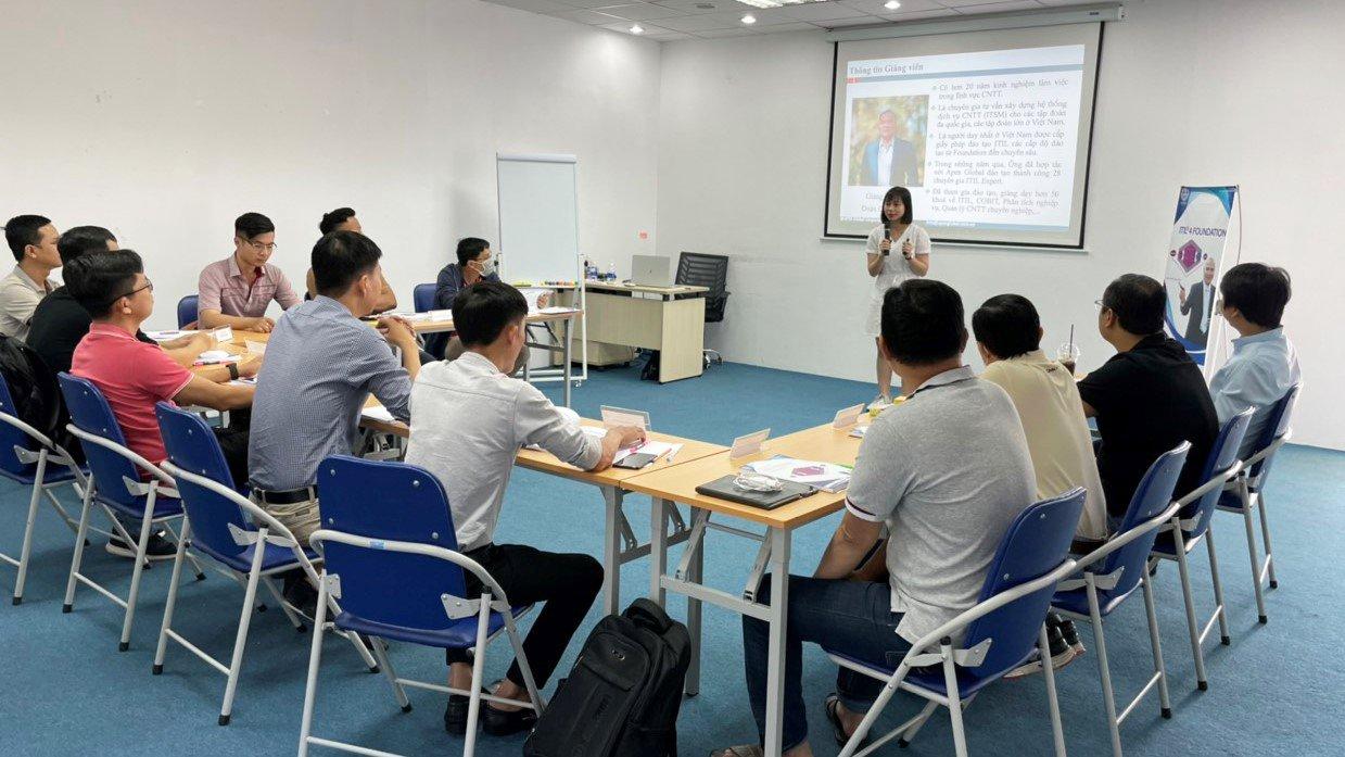 Khai giảng khóa đào tạo ITIL 4 Foundation tại Hồ Chí Minh tháng 03/2021
