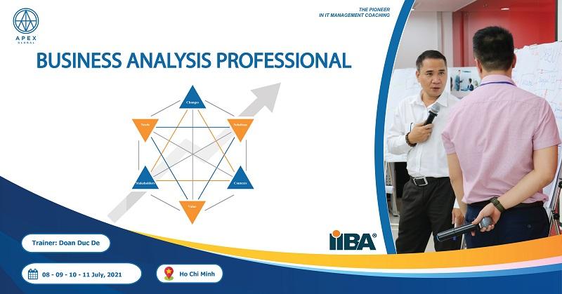Chiêu sinh khóa Business Analysis Professional tháng 07/2021 – Tp.HCM