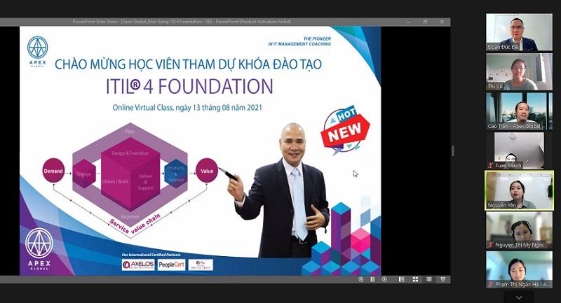 Khai giảng khoá học ITIL 4 Foundation Online tại Việt Nam