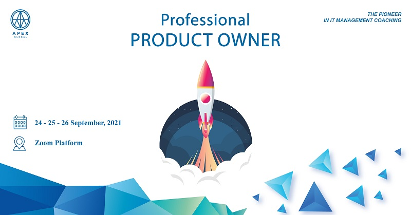 Khóa học Professional Product Owner – Online Virtual Class