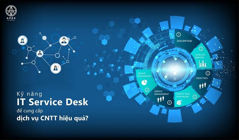 Công việc chính của IT Service Desk tại doanh nghiệp là gì?